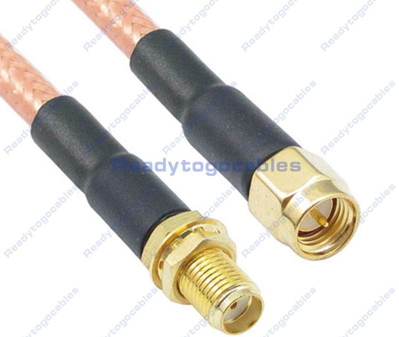 SMA Female To SMA Male RG142 Cable
