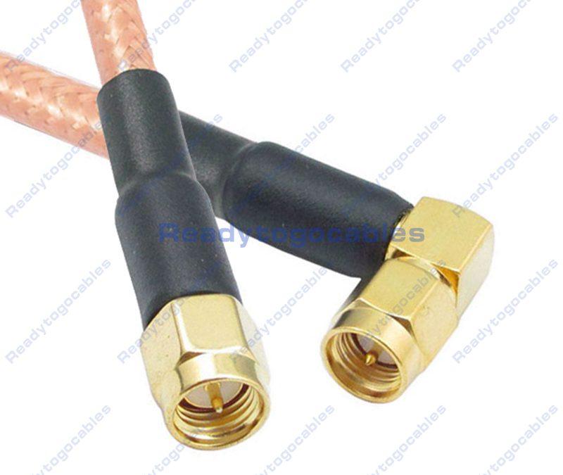 SMA Female To SMA Female RG142 Cable