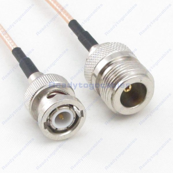 BNC Male To N-TYPE Female RG316 Cable