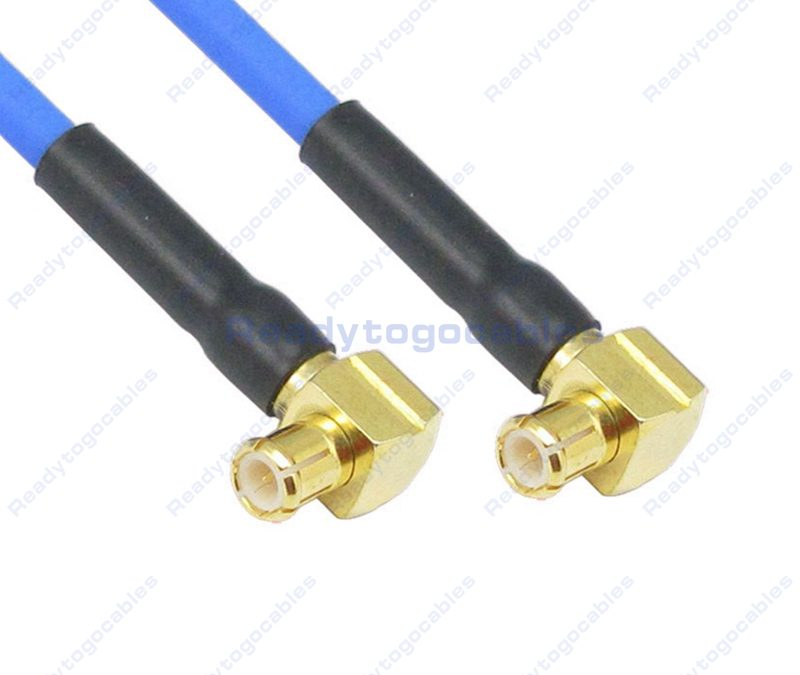 MCX Male To MCX Male RG405 Cable