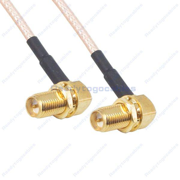 RA RP SMA Female To RA RP SMA Female RG316 Cable