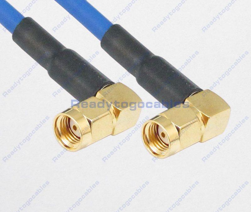 RA RP SMA Male To RA RP SMA Male RG402 Cable