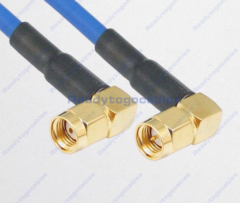 RA RP SMA Male To RA SMA Male RG402 Cable