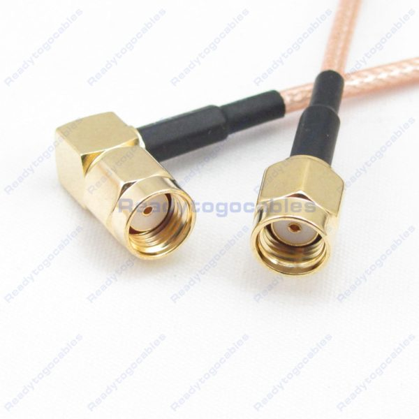 RA RP SMA Male To RP SMA Male RG316 Cable