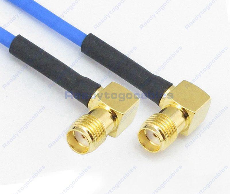 RA SMA Female To RA SMA Female RG405 Cable