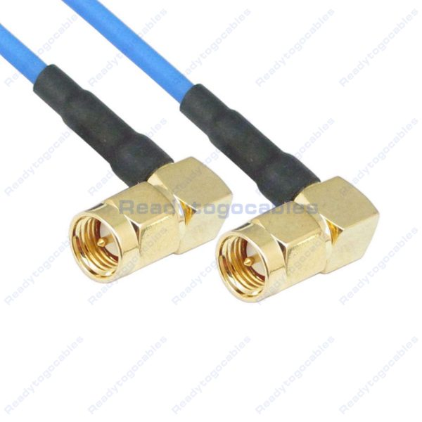 RA SMA Male To RA SMA Male RG405 Cable