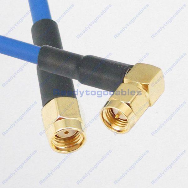 RA SMA Male To RP SMA Male RG402 Cable