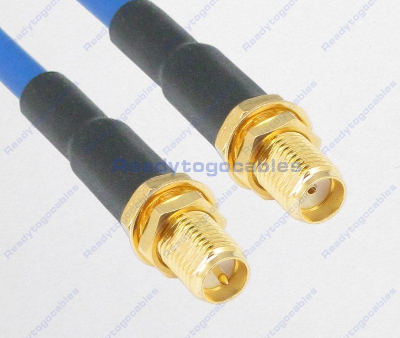 RP SMA Female To SMA Female RG402 Cable