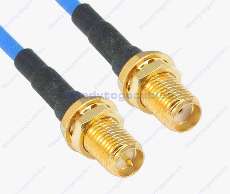 RP SMA Female To SMA Female RG405 Cable