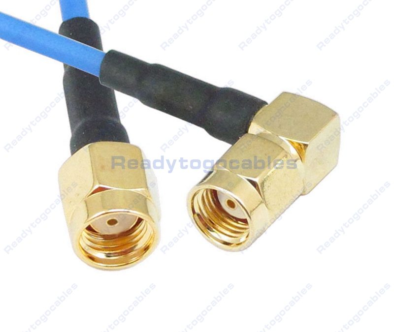 RP SMA Male To RA RP SMA Male RG405 Cable
