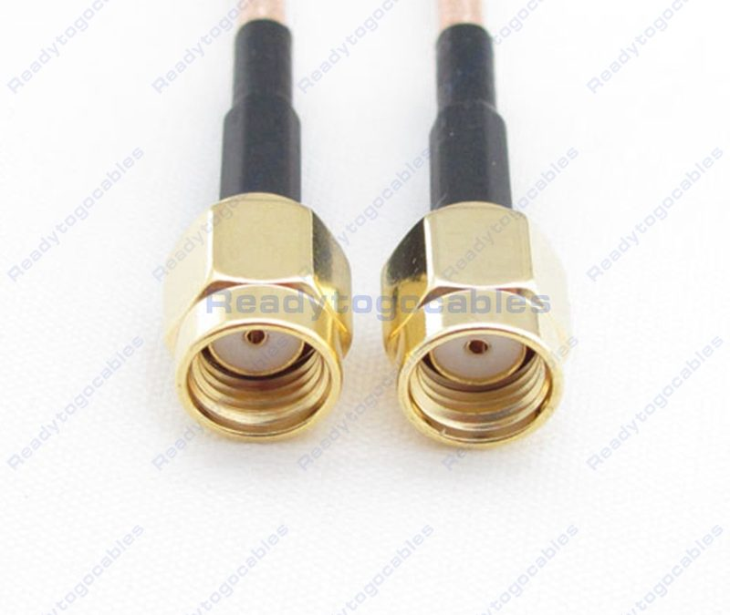 RP SMA Male To RP SMA Male RG316 Cable