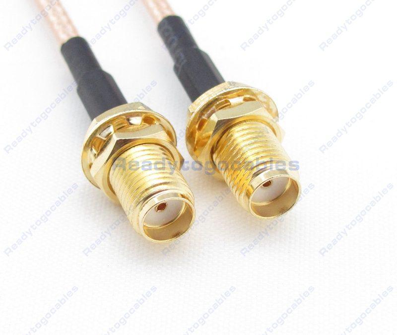SMA Female To SMA Female RG316 Cable