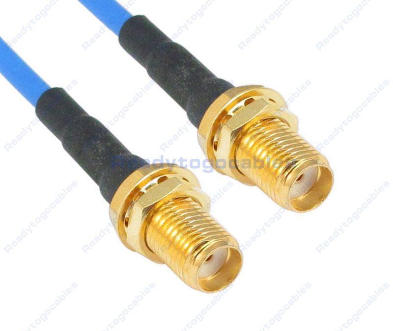 SMA Female To SMA Female RG405 Cable