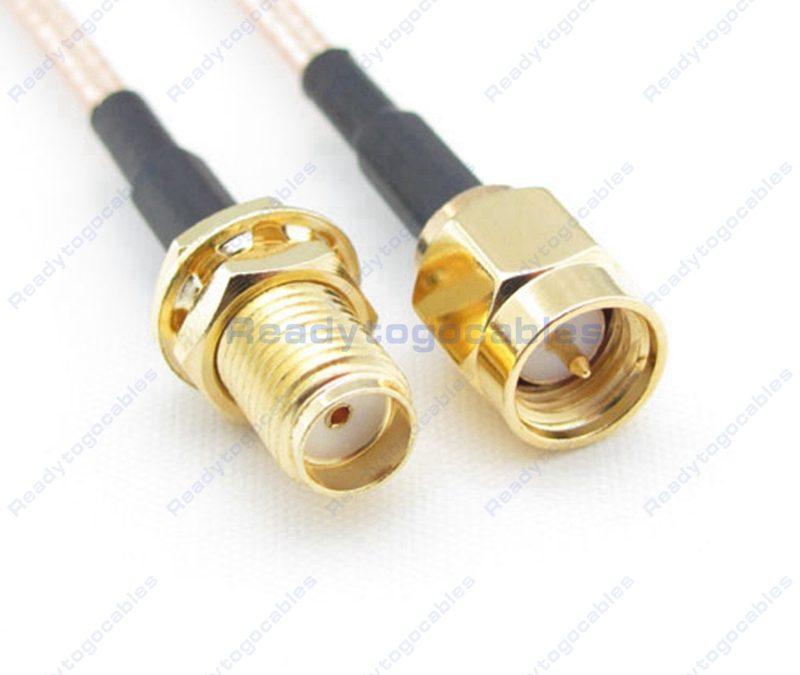 SMA Female To SMA Male RG316 Cable