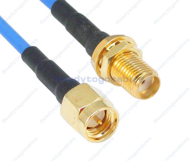 SMA Male To SMA Female RG405 Cable