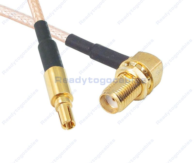 CRC9 Male To RA SMA Female RG316 Cable