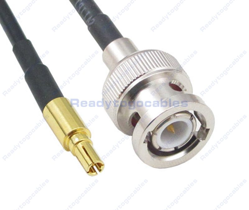 CRC9 Male To BNC Male RG174 Cable