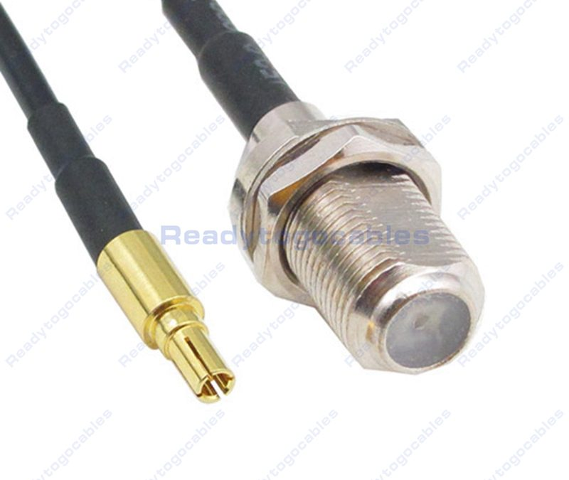 CRC9 Male To F Female RG174 Cable