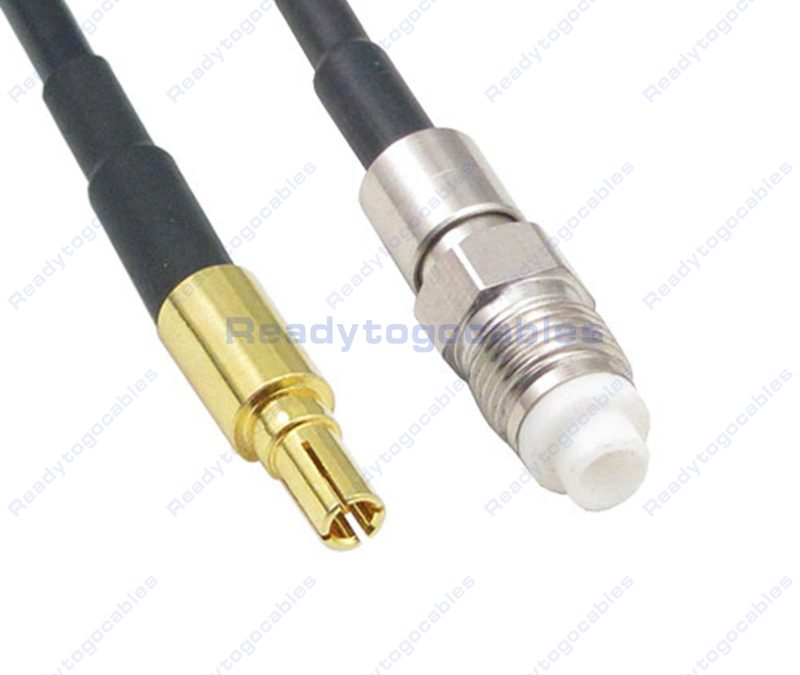 CRC9 Male To FME Female RG174 Cable