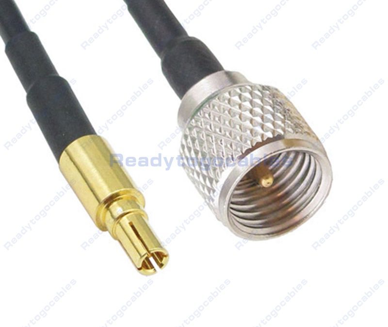 CRC9 Male To MINI-UHF Male RG174 Cable