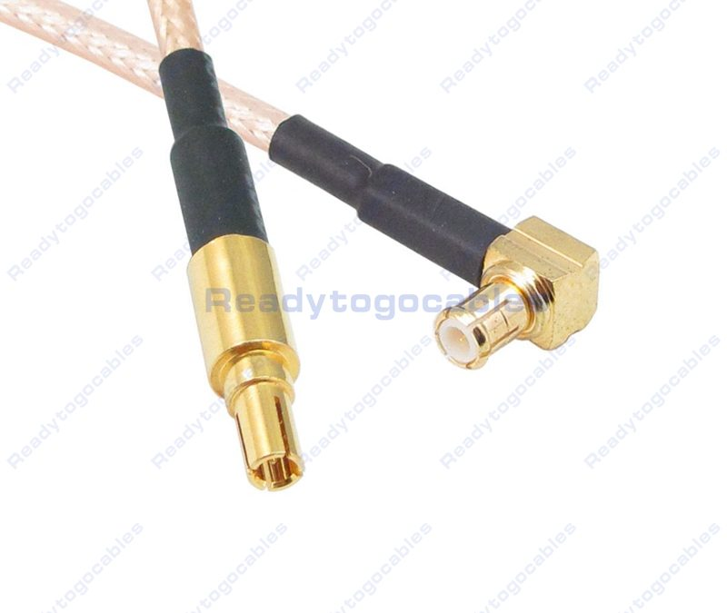 CRC9 Male To RA MCX Male RG316 Cable