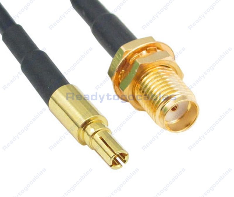 CRC9 Male To SMA Female RG174 Cable