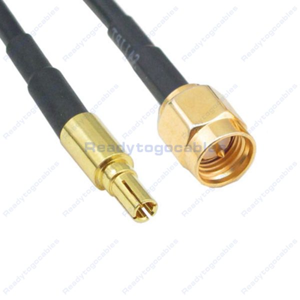 CRC9 Male To SMA Male RG174 Cable