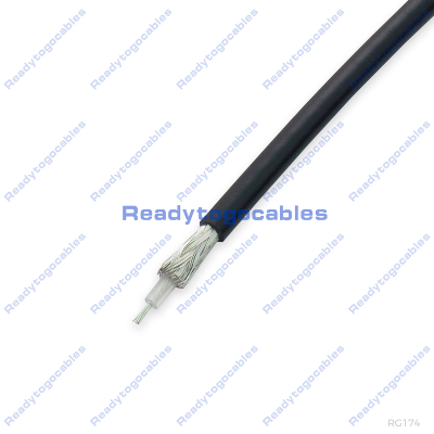 custom rg174 coaxial cable made readytogocables