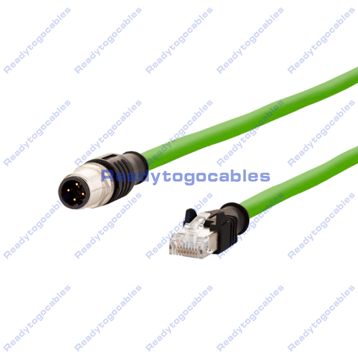 Custom M12 D-Coded Cable