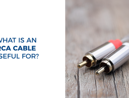 What is an RCA cable useful for