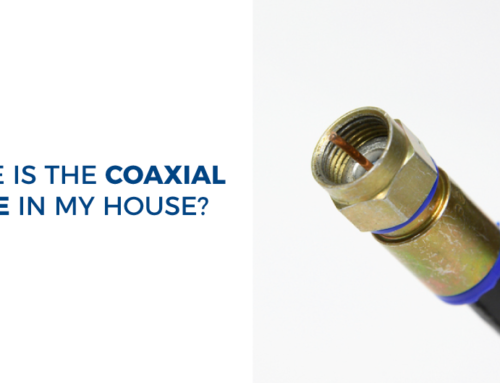 Where is the coaxial cable in my house?