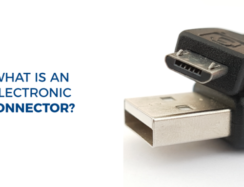 What is an electronic connector?
